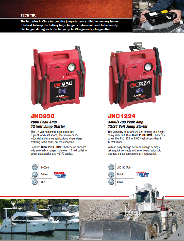 950 and 1224 jump n carry jnc950 2000 peak amp 12v jump starter car battery help  at gsmx.co